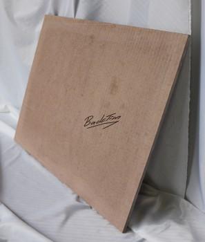 صفيحة خبز / صفيحة حجرية / صحن فرن للسمان 600x490x15mm جديد