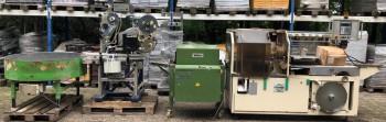 آلة تعبئة الخبز وآلة الوسم